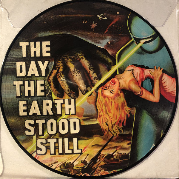 "Bernard Herrmann ‎– The Day The Earth Stood Still (Original Motion Picture Soundtrack) : Reel-To-Reel Music Company ‎– MOVIE7 : Vinyl, 12"", 33 ⅓ RPM, Album, Picture Disc"