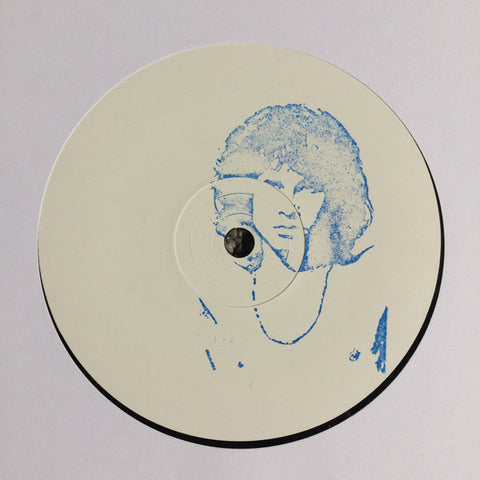 "Unknown Artist ‎– Ijzeren Rots : Digwah ‎– DIGWAH03 : Vinyl, 12"", 45 RPM, Single Sided, White Label, Hand-stamped"