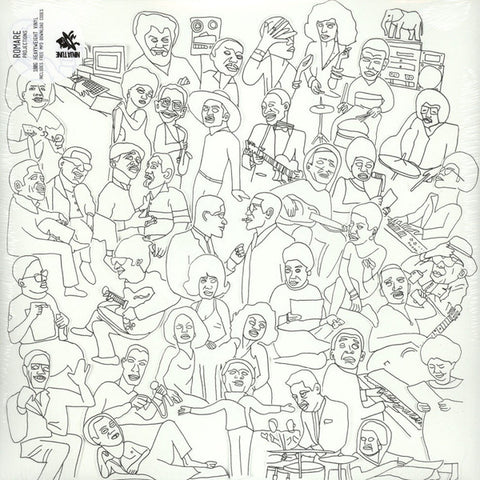 Romare ‎– Projections : Ninja Tune ‎– ZEN218 : 2 × Vinyl, LP, Album, 180g