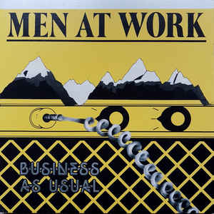 Men At Work ‎– Business As Usual : Mobile Fidelity Sound Lab ‎– MOFI 1-024 Series: Original Master Recording – , Silver Label Vinyl Series – : Vinyl, LP, Album, Limited Edition, Numbered, Reissue, Remastered, Special Edition, Gatefold