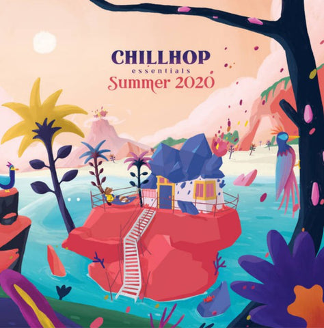 Various ‎– Chillhop Essentials - Summer 2020 : Chillhop Records ‎– CR184 Series: Chillhop Essentials – 2020-2 : 2 × Vinyl, LP, Compilation, Limited Edition, Numbered, Red, Gatefold