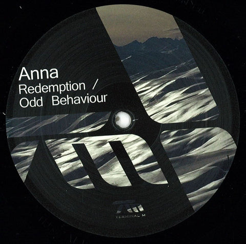 "Anna* ‎– Redemption / Odd Behaviour : Terminal M ‎– TERM128 : Vinyl, 12"", 45 RPM, EP"