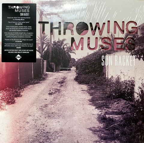 Throwing Muses ‎– Sun Racket : Fire Records ‎– FIRELP574 : Vinyl, LP, Album, Limited Edition, Violet