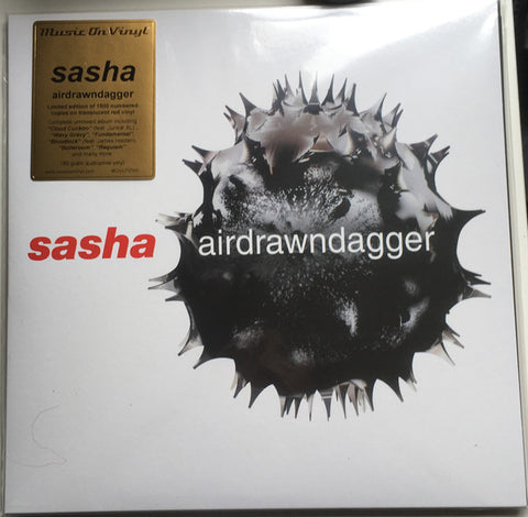 Sasha ‎– Airdrawndagger : Music On Vinyl ‎– MOVLP2585, Sony Music ‎– MOVLP2585 : 3 × Vinyl, LP, Album, Limited Edition, Numbered, Reissue, Red Translucent, 180 Gram