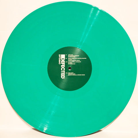 "Various ‎– Sampler EP 2 : Defected ‎– DFTD560 Series: House Music All Life Long – : Vinyl, 12"", EP, Repress, Green"