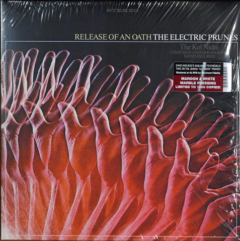 The Electric Prunes ‎– Release Of An Oath : Reprise Records ‎– RGM-1042, Real Gone Music ‎– RGM-1042 : Vinyl, LP, 45 RPM, Album, Reissue, Maroon & White Marble