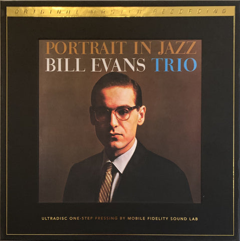 "Bill Evans Trio* ‎– Portrait In Jazz : Riverside Records ‎– UD1S 2-009, Mobile Fidelity Sound Lab ‎: 2 × Vinyl, 12"", 45 RPM, Album, Limited Edition, Numbered, Remastered, 180g  Box Set"