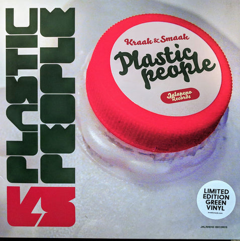 Kraak & Smaak ‎– Plastic People : Jalapeno Records ‎– JAL66V : 2 × Vinyl, LP, Album, Limited Edition, Reissue, Repress, Green