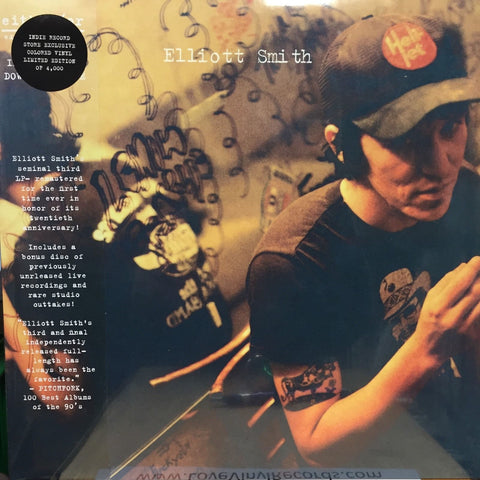 Elliott Smith ‎– Either / Or : Kill Rock Stars ‎– KRS620 : 2 × Vinyl, LP, Album, Limited Edition, Reissue, Remastered, Yellow