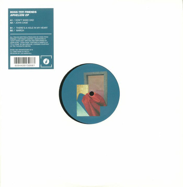 "Ross From Friends ‎– Aphelion EP : Brainfeeder ‎– BF068 : Vinyl, 12"", 33 ⅓ RPM, EP, Limited Edition"