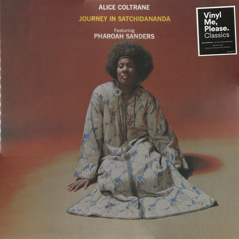 Alice Coltrane Featuring Pharoah Sanders ‎– Journey In Satchidananda : Impulse! ‎– B0027041-01, Universal Music Special Markets ‎– B0027041-01 Series: Vinyl Me, Please. Classics – C004 : Vinyl, LP, Album, Club Edition, Reissue, 180g