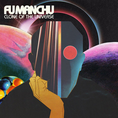 Fu Manchu ‎– Clone Of The Universe : At The Dojo Records ‎– ATD014 : Vinyl, LP, Album, Black / Blue Swirl