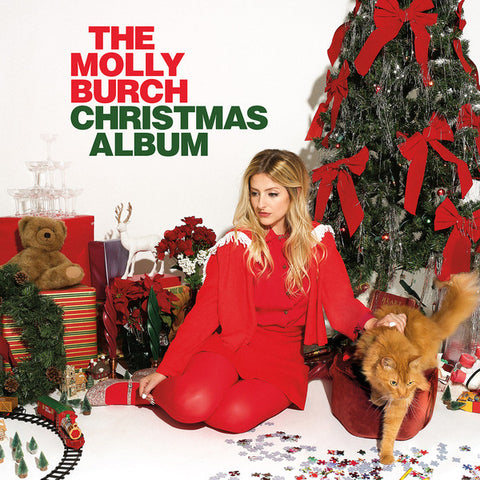 Molly Burch ‎– The Molly Burch Christmas Album : Captured Tracks ‎– CT-315 : Vinyl, LP, Album, Limited Edition, Gold