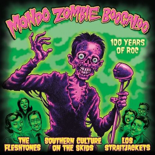 The Fleshtones / Southern Culture On The Skids / Los Straitjackets ‎– Mondo Zombie Boogaloo : Yep Roc Records ‎– YEP-2347 : 2 × Vinyl, LP, Album, Orange CD, Album