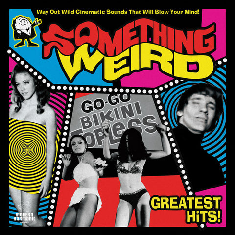 Various ‎– Something Weird Greatest Hits! : Modern Harmonic ‎– MH-8087 : 2 × Vinyl, LP, Compilation, Mono