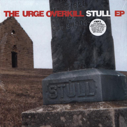 "Urge Overkill ‎– Stull EP : Touch And Go ‎– TG86 : Vinyl, 10"", EP, Limited Edition, Reissue, White"