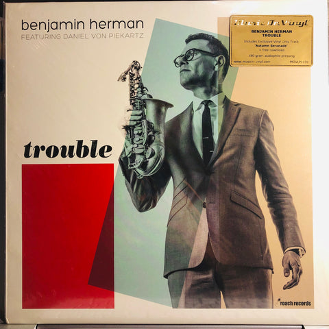 Benjamin Herman Featuring Daniel von Piekartz ‎– Trouble : Music On Vinyl ‎– MOVLP1191 : Vinyl, LP, Album
