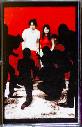 The White Stripes ‎– White Blood Cells : Third Man Records ‎– TMR033 : Cassette, Album, Reissue, Repress, red translucent