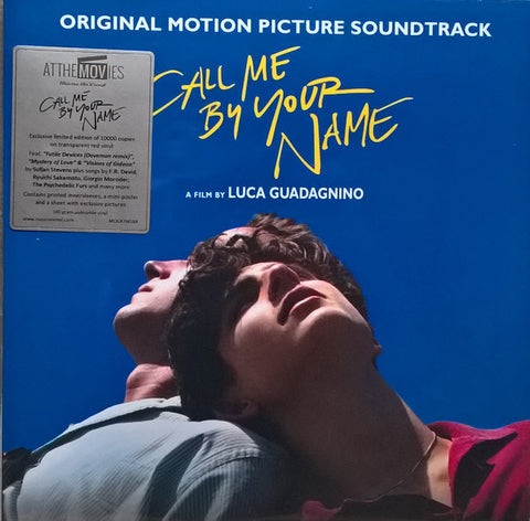 Various ‎– Call Me By Your Name (Original Motion Picture Soundtrack) : Music On Vinyl ‎– MOVATM184 Series: At The Movies – MOVATM184 : 2 × Vinyl, LP, Album, Limited Edition, Numbered, Red Transparent, 180g