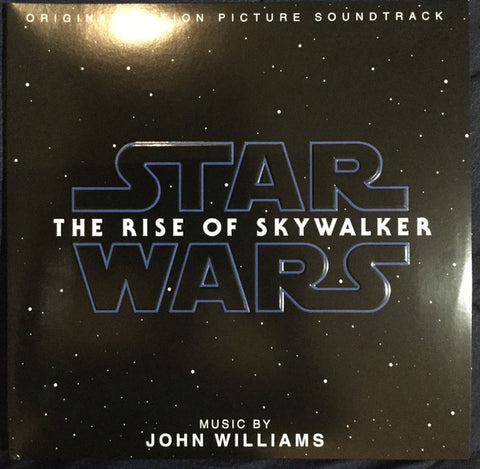 John Williams (4) ‎– Star Wars: The Rise Of Skywalker (Original Motion Picture Soundtrack) : Lucasfilm Ltd. ‎– D003293301, Walt Disney Records ‎– D003293301 : 2 × Vinyl, LP, Album