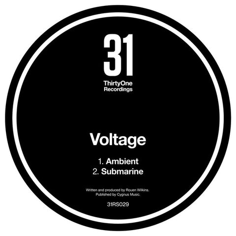 "Voltage ‎– Ambient : 31 Records ‎– 31RS029 : Vinyl, 12"", 45 RPM"