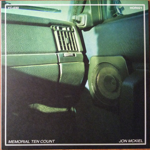 Jon Mckiel ‎– Memorial Ten Count : You've Changed Records ‎– YC-030, Headless Owl Records ‎– HOR021 : Vinyl, LP, Album