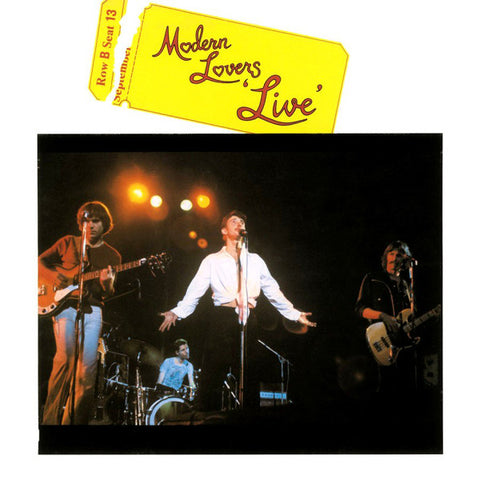 Modern Lovers* ‎– Live : Music On Vinyl ‎– MOVLP1687, BMG ‎– MOVLP1687 : Vinyl, LP, Album, Limited Edition, Numbered, Reissue, Yellow, 180g