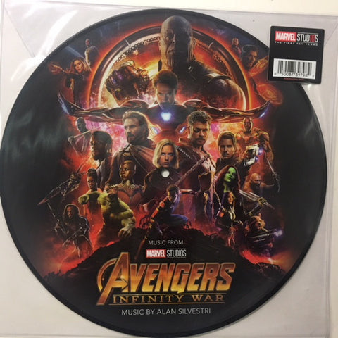 Alan Silvestri ‎– Avengers: Infinity War (Original Motion Picture Soundtrack) : Hollywood Records ‎– D002923201 : Vinyl, LP, Album, Picture Disc