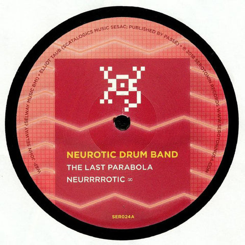 "Neurotic Drum Band / Ulysses (2) ‎– The Last Parabola / Shiny Destruction : Serotonin ‎– SER024 : Vinyl, 12"", 33 ⅓ RPM, 45 RPM"