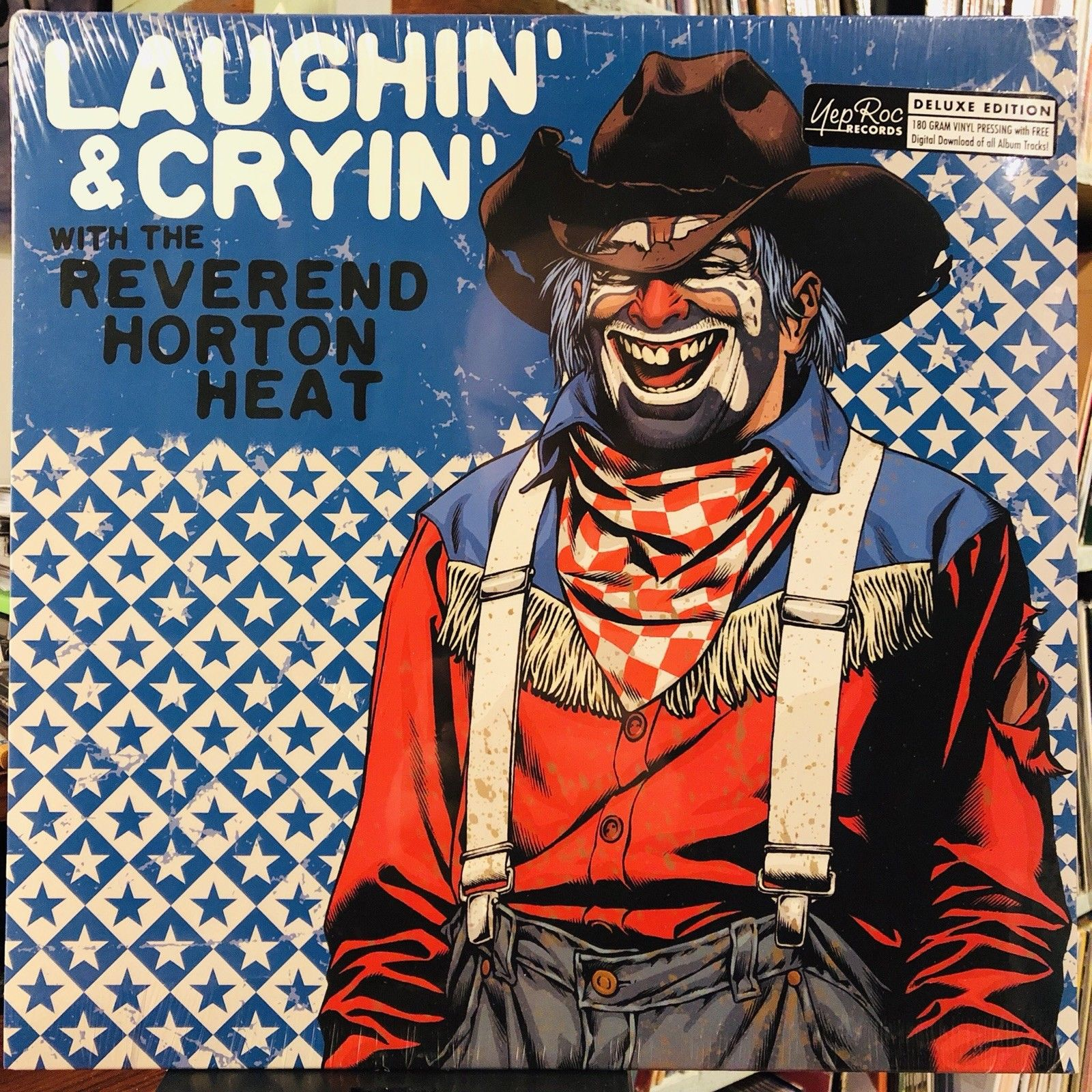 The Reverend Horton Heat* ‎– Laughin' And Cryin' With The Reverend Horton Heat : Yep Roc Records ‎– 2172 : Vinyl, LP, Album