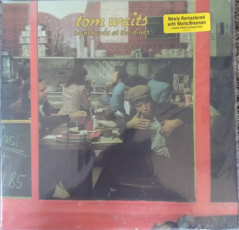 Tom Waits ‎– Nighthawks At The Diner : Anti- ‎– 87567-1 : 2 × Vinyl, LP, Album, Limited Edition, Reissue, Remastered, Red Opaque