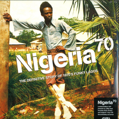 Various ‎– Nigeria 70 (The Definitive Story of 1970's Funky Lagos) : Strut ‎– STRUT044LP Series: Nigeria 70 – : 3 × Vinyl, LP, Compilation, Reissue, Remastered