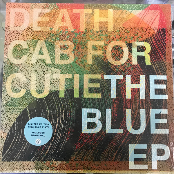 "Death Cab For Cutie ‎– The Blue EP : Barsuk Records ‎– BARK188 : Vinyl, 12"", EP, Limited Edition, Blue Vinyl"