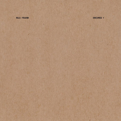 "Nils Frahm ‎– Encores 1 : Erased Tapes Records ‎– ERATP107LP : Vinyl, 12"", EP"