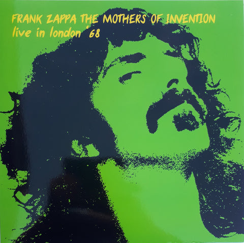 Frank Zappa, The Mothers Of Invention* ‎– Live In London '68 : Keyhole ‎– KHLP9089 : Vinyl, LP, Unofficial Release