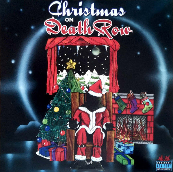 Various ‎– Christmas On Death Row : Death Row Records (2) ‎– DRR-LP-63016 : 2 × Vinyl, LP, Compilation, Special Edition, Clear Green  Country: USA & Canada
