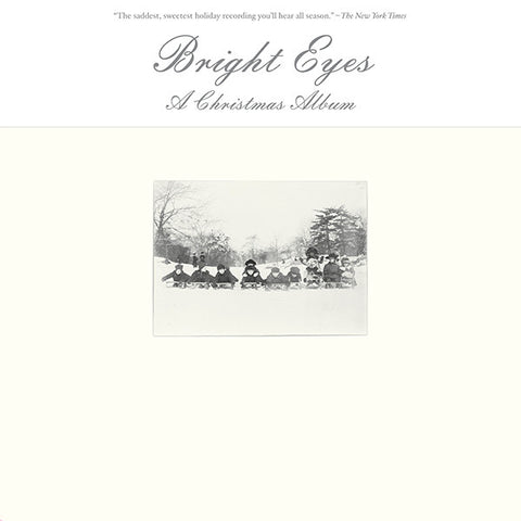 Bright Eyes ‎– A Christmas Album : Saddle Creek ‎– LBJ-199 : Vinyl, LP, Album, Repress, White