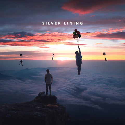 Jake Miller (3) ‎– Silver Lining : Jake Miller Music Inc. / Empire ‎– none : 2 × Vinyl, LP, Album, Limited Edition, Blue