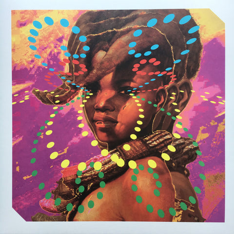 "Immaculate Rivombo* ‎– Psychic Bridge From Bujumbura : Invisible, Inc. ‎– INVINC 16 : Vinyl, 12"", 45 RPM, EP, Numbered"