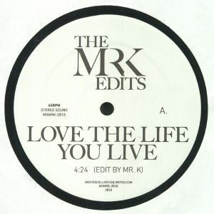 "Kool & The Gang / Gary Toms Empire ‎– The Mr. K Edits : Most Excellent Unlimited ‎– MXMRK-2018 : Vinyl, 12"", 45 RPM, Promo"