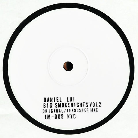 Daniel Lui ‎– Big Smoke Nights Vol. 2 : Innermoods ‎– IM-005 : Vinyl, 12""