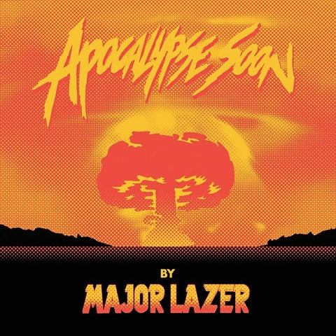 "Major Lazer - Apocalypse Soon - Secretly Canadian - SC309 - 12"", EP, Ltd, Ora"