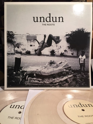 The Roots ‎– Undun : Not On Label (The Roots) ‎– ROOTSUNDUN0001 : 2 × Vinyl, LP, Album, Unofficial Release, Repress, Clear