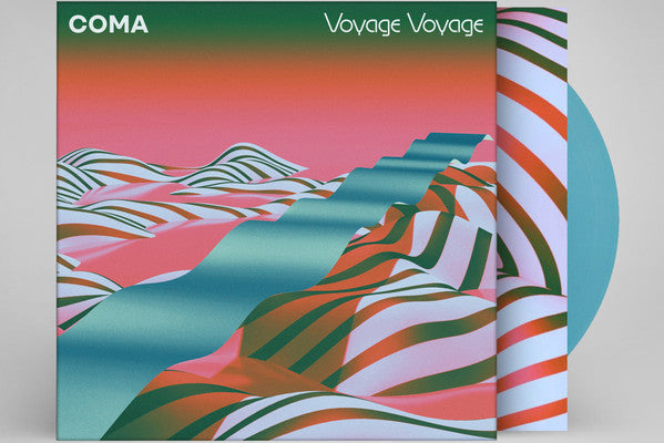 Coma (16) ‎– Voyage Voyage : City Slang ‎– SLG50235 : Vinyl, LP, Limited Edition, Turquoise