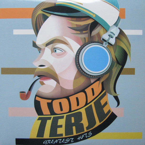 "Various - Todd Terje Greatest Edits  - TTJ - TODDEDITS - 2x12"", Comp, Unofficial, Clear"