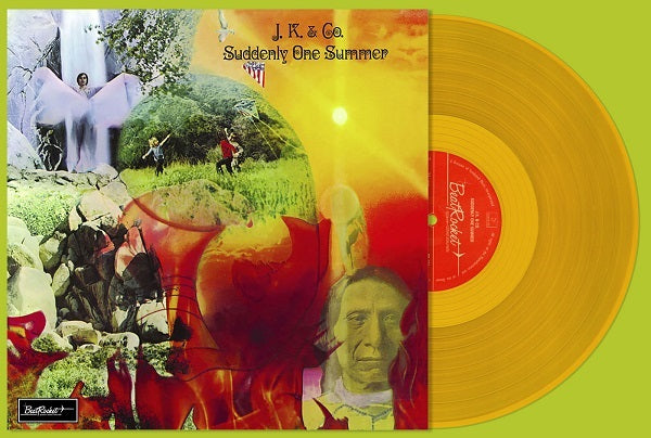 J.K. And Co.* ‎– Suddenly One Summer : BeatRocket ‎– BR 126 : Vinyl, LP, Album, Reissue, Gold vinyl, 180g