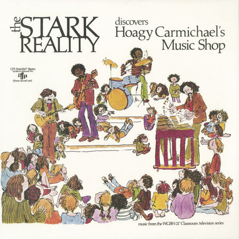 The Stark Reality* ‎– Discovers Hoagy Carmichael's Music Shop : Now-Again Records ‎– na 5095 : 3 × Vinyl, LP, Deluxe Edition, Reissue