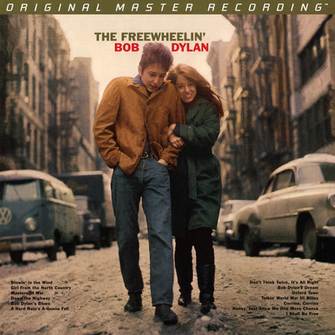Bob Dylan ‎– The Freewheelin' Bob Dylan : Mobile Fidelity Sound Lab ‎– : 2 × Vinyl, LP, 45 RPM, Album, Limited Edition, Numbered, Remastered, Mono, Gatefold