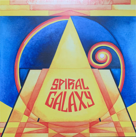Spiral Galaxy ‎– Spiral Galaxy : Lion Productions ‎– LION LP 190, Cardinal Fuzz ‎– CFUL0163 : Vinyl, LP, Album, Limited Edition, Repress, Marble