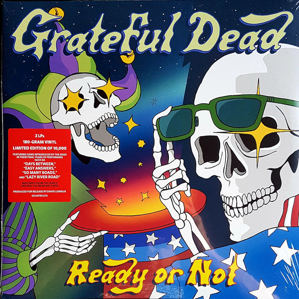 Grateful Dead* ‎– Ready Or Not : Rhino Records (2) ‎– R1-596008, Dead.Net ‎– 0603497851270 : 2 × Vinyl, LP, Limited Edition